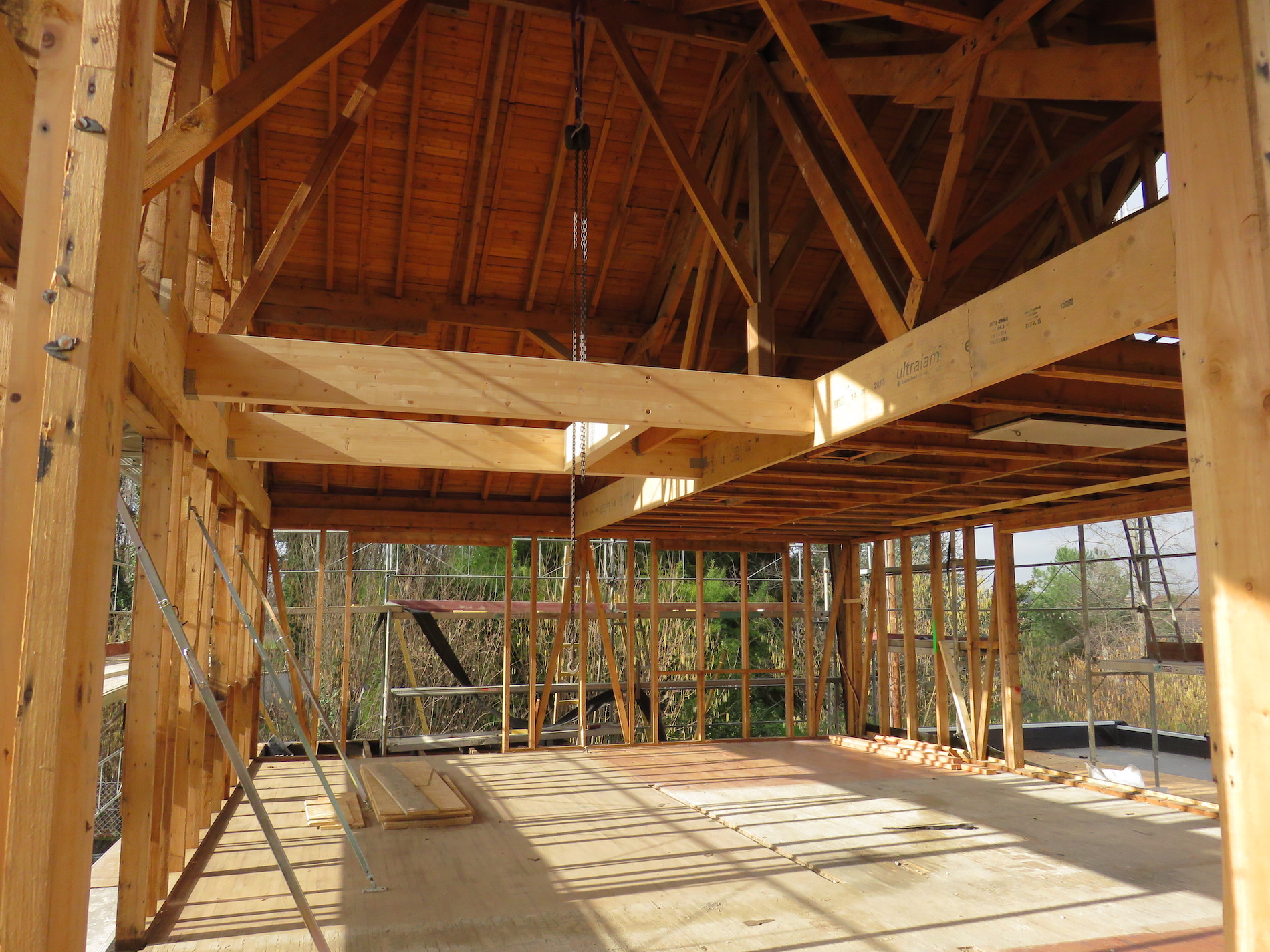 Rénovation chalet bois rhône alpes